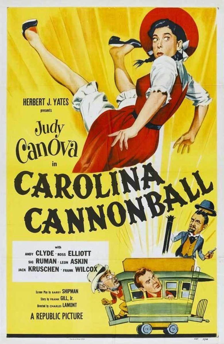 Carolina Cannonball movie poster