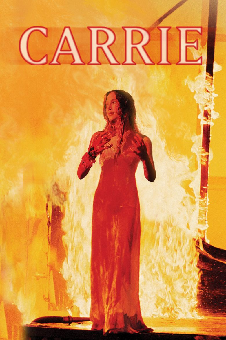 Carrie (1976 film) movie poster