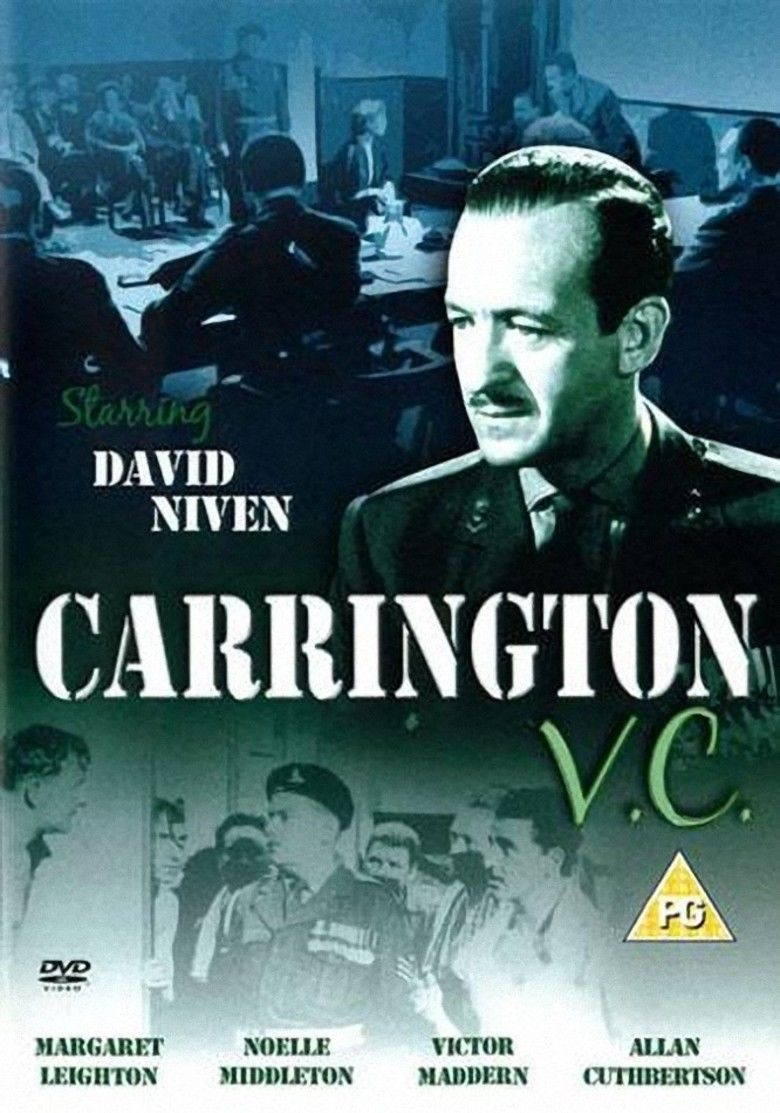 Carrington VC (film) movie poster