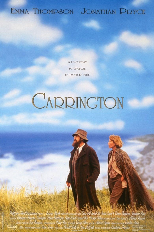 Carrington (film) movie poster