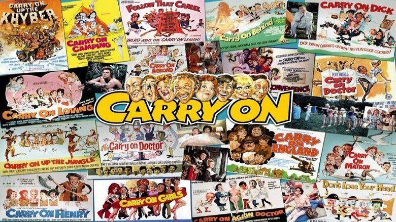 Carry On Behind movie scenes