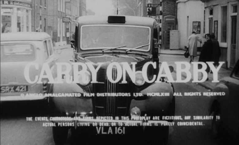 Carry On Cabby movie scenes