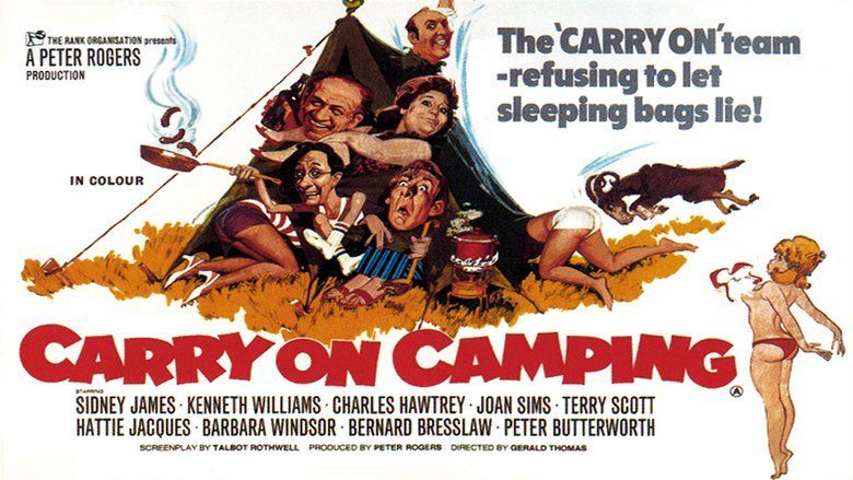 Carry On Camping movie scenes