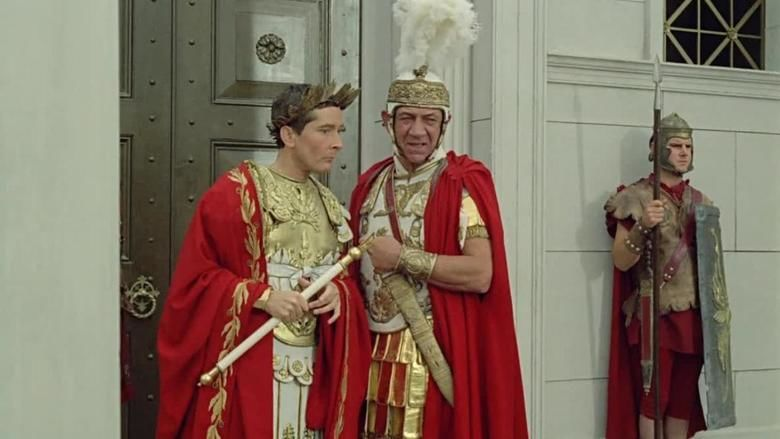 Carry On Cleo movie scenes