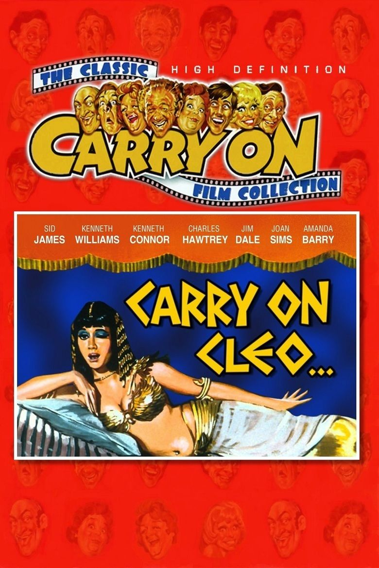 Carry On Cleo movie poster
