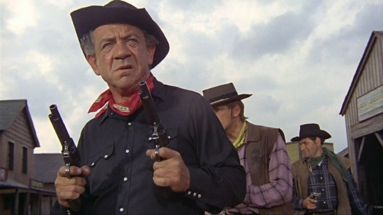 Carry On Cowboy movie scenes
