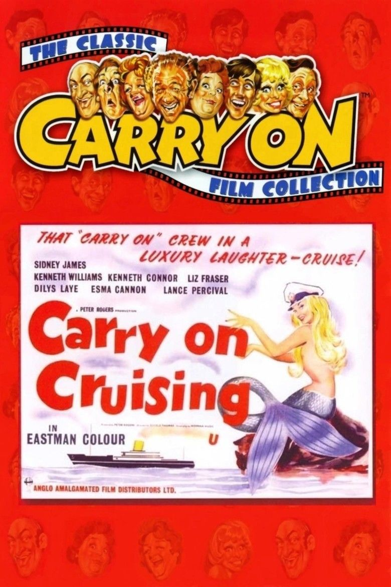 Carry On Cruising movie poster