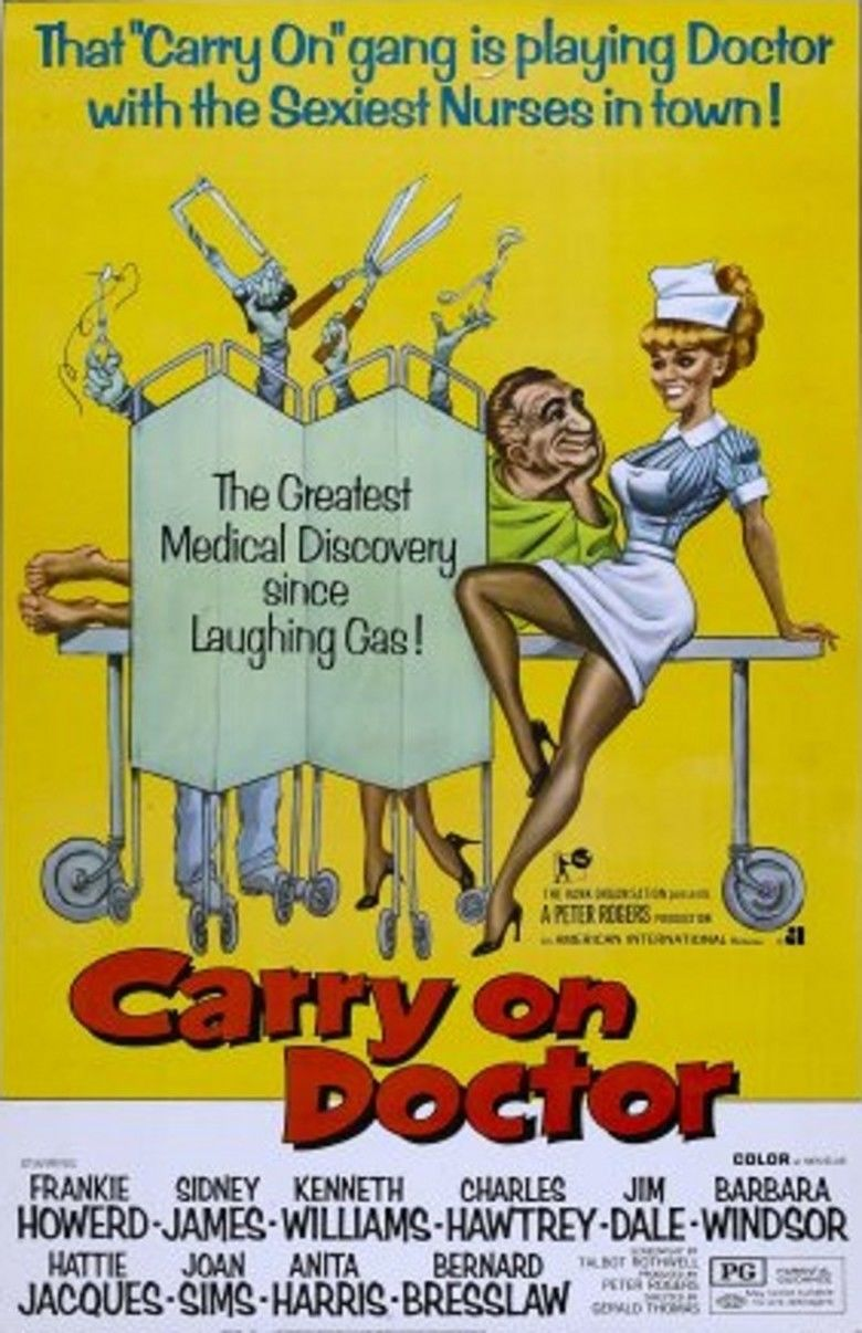 Carry On Doctor movie poster