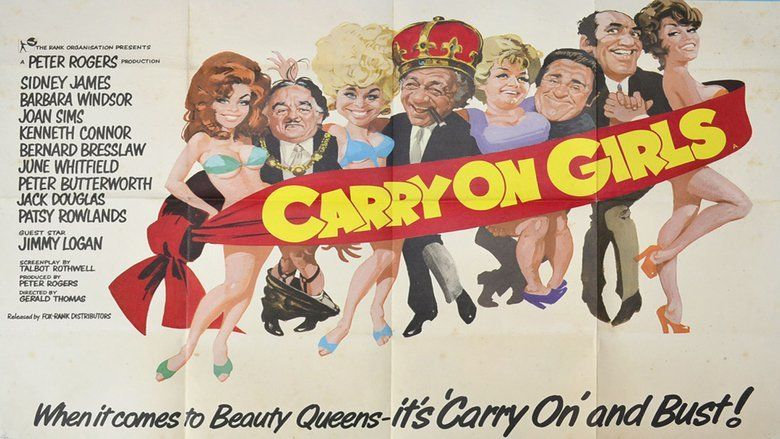 Carry On Girls movie scenes