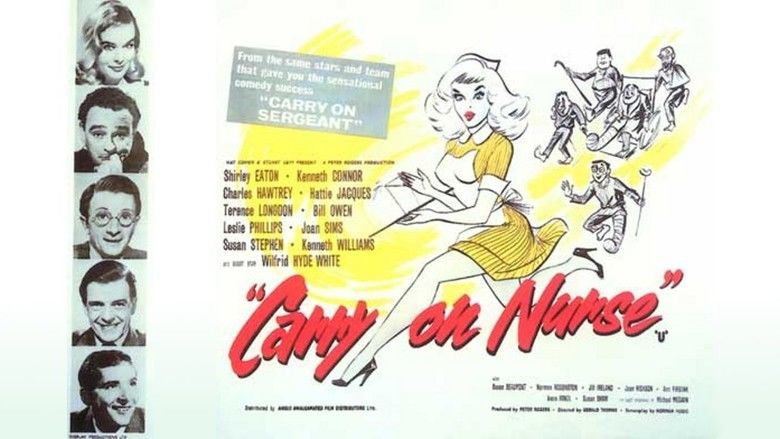 Carry On Nurse movie scenes