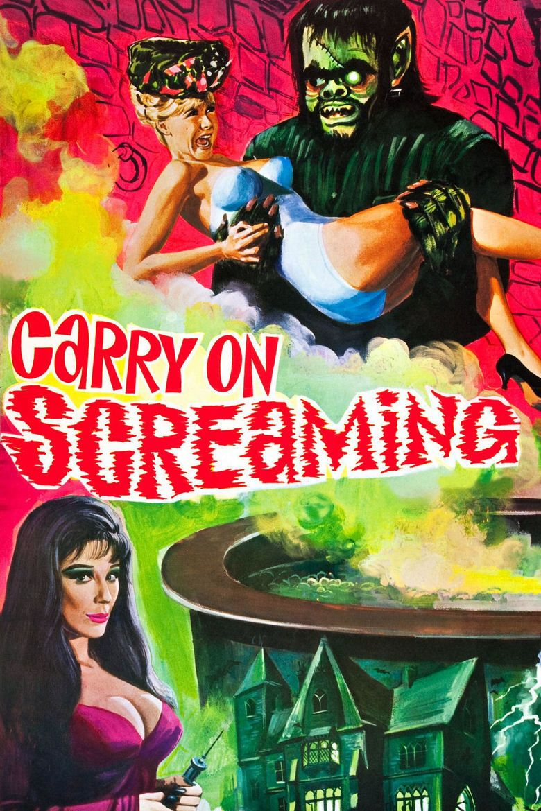 Carry On Screaming! movie poster