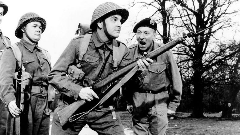 Carry On Sergeant movie scenes