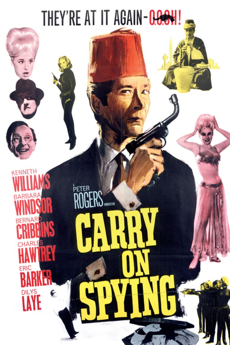 Carry On Spying movie poster