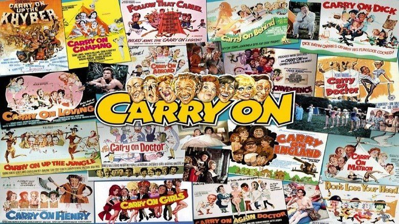 Carry On Spying movie scenes