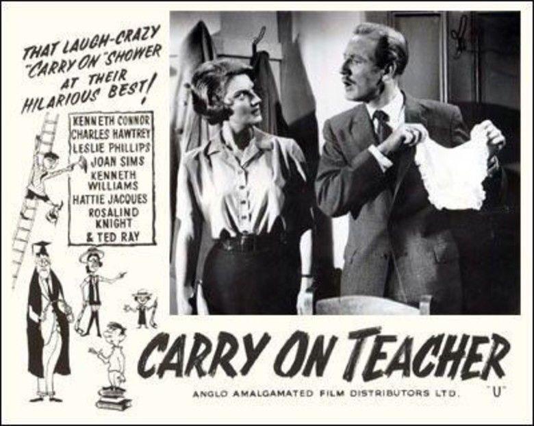 Carry On Teacher movie scenes