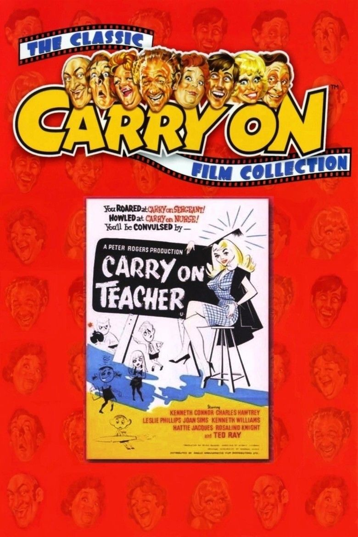 Carry On Teacher movie poster