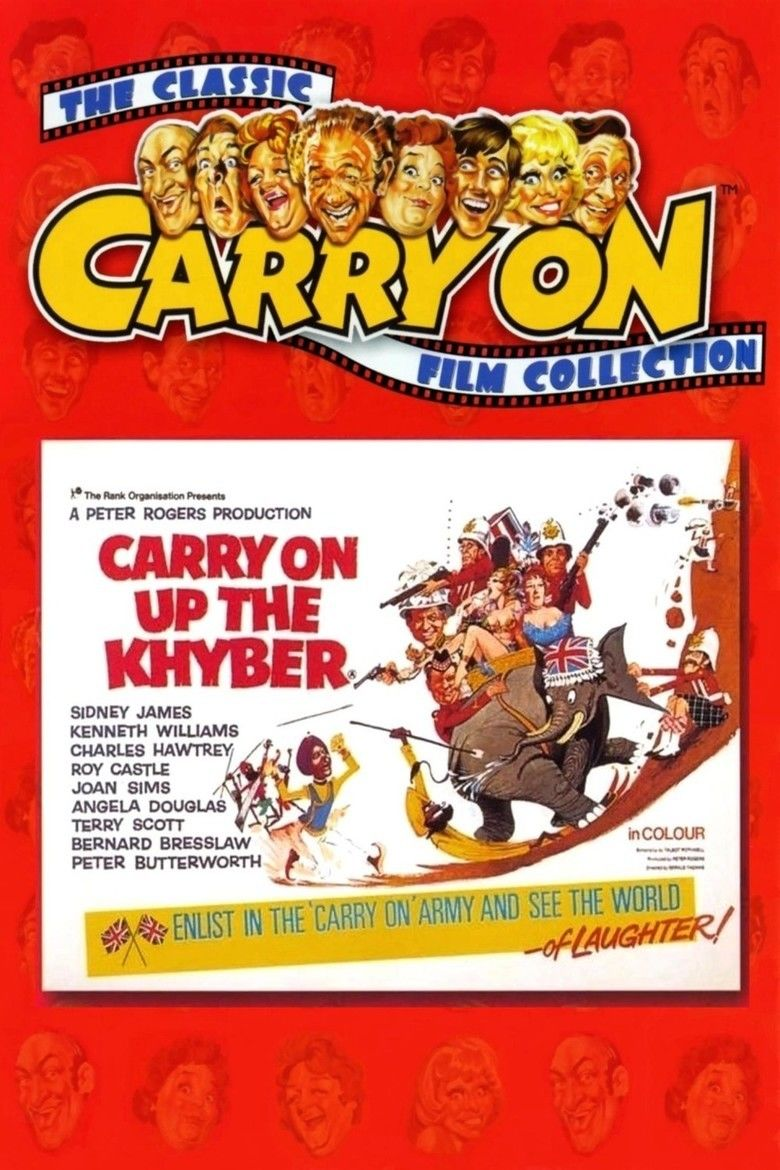 Carry On Up the Khyber movie poster