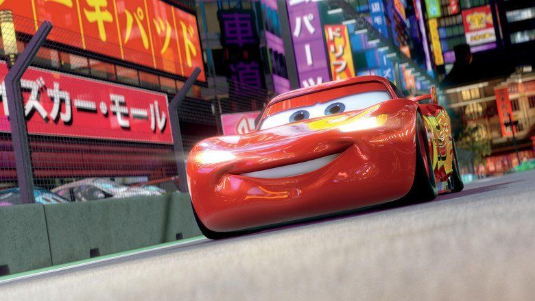 Cars 2 movie scenes