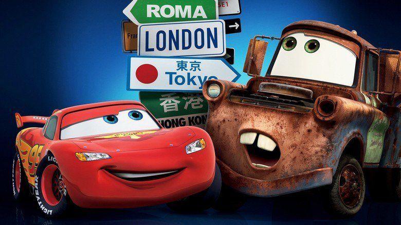 Cars 2 movie scenes