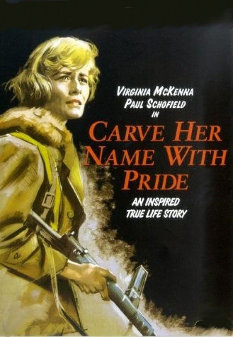 Carve Her Name with Pride movie poster