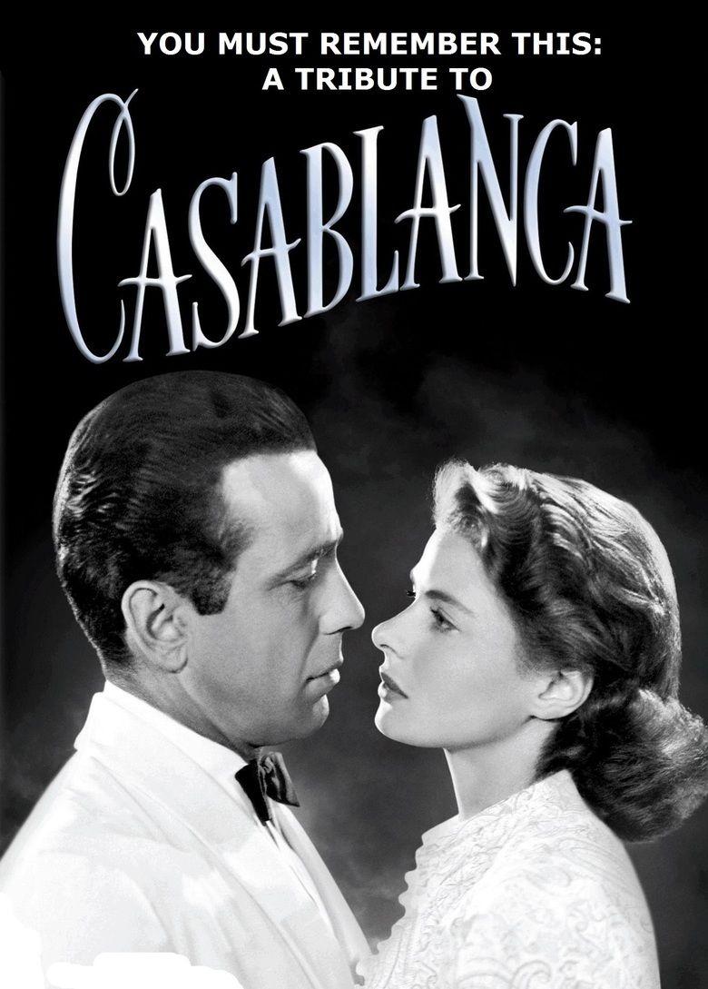 Casablanca (film) movie poster