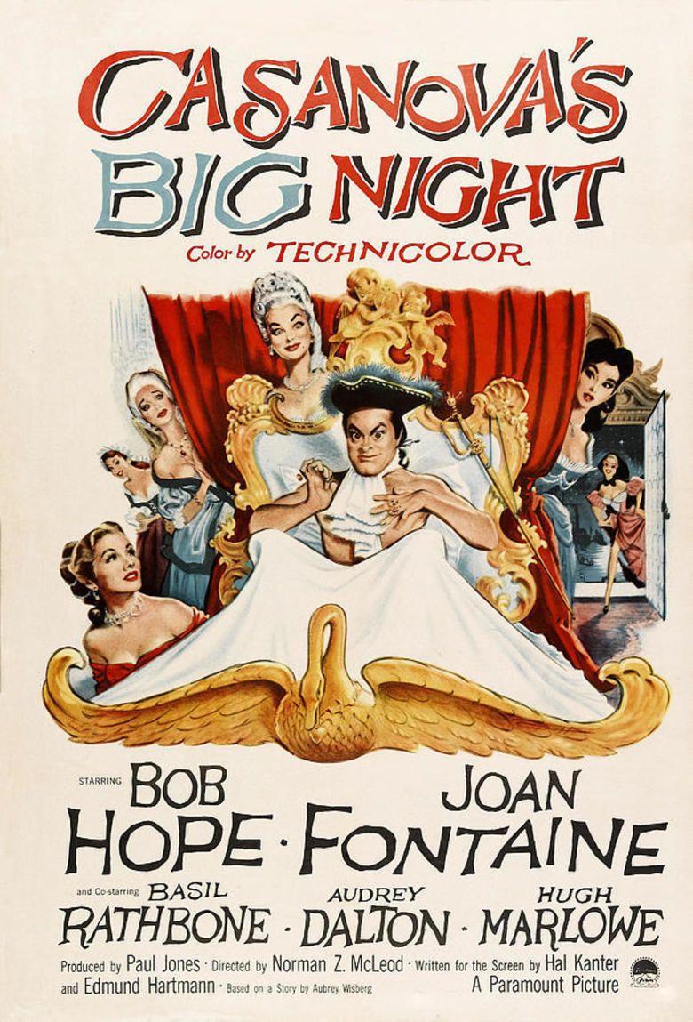 Casanovas Big Night movie poster