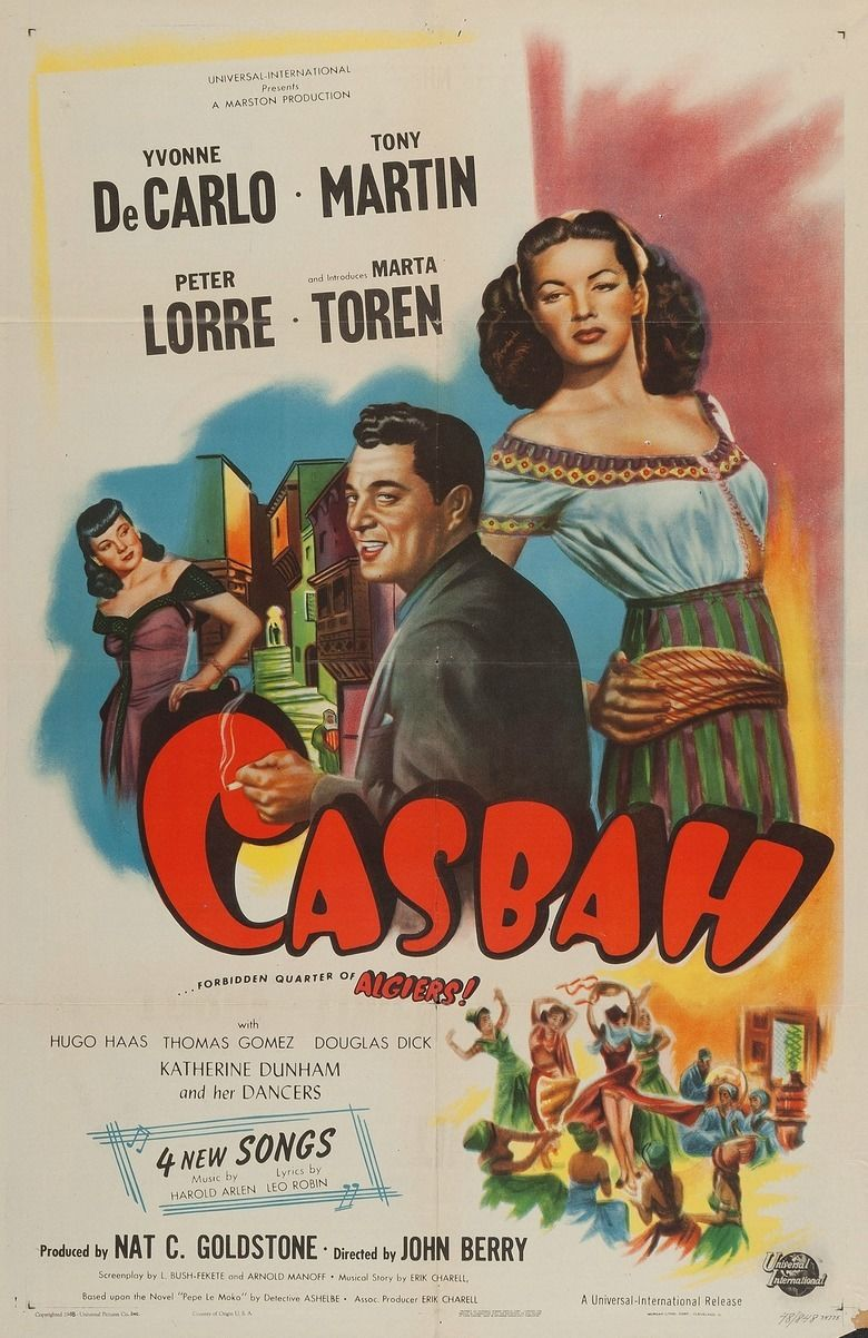 Casbah (film) movie poster