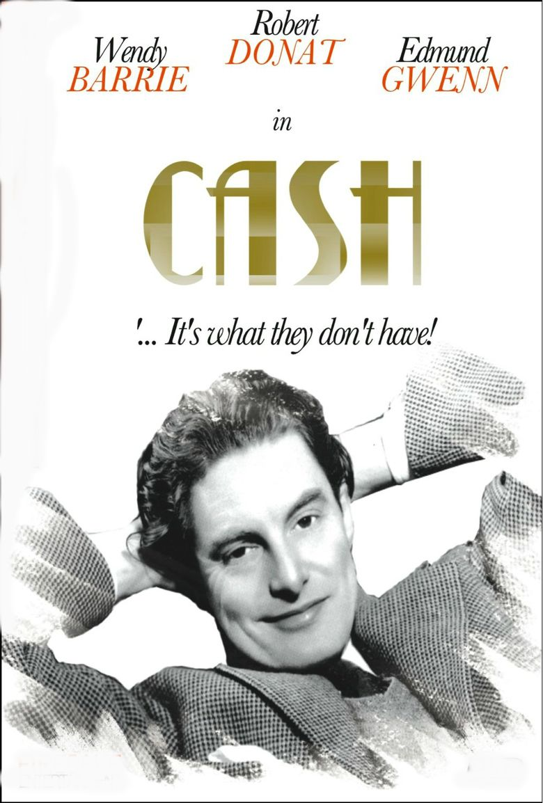 Cash (1933 film) movie poster
