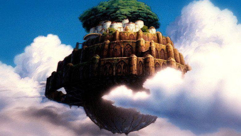Castle in the Sky movie scenes