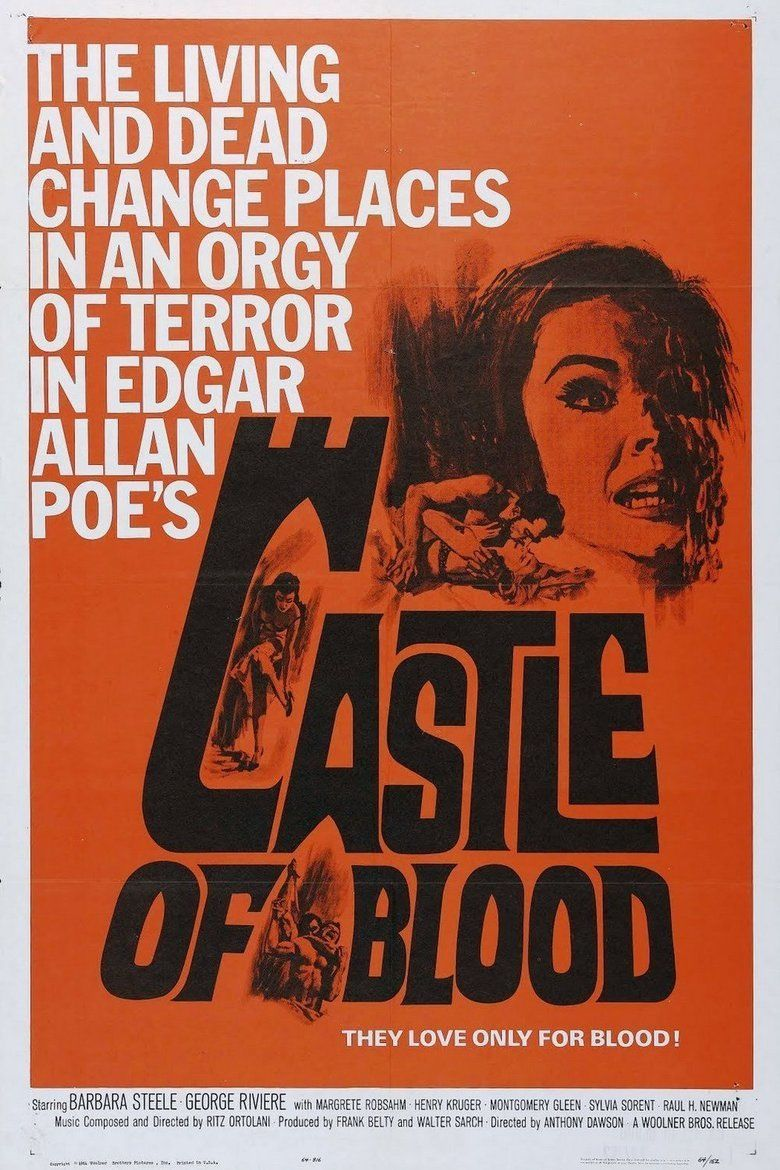 Castle of Blood movie poster