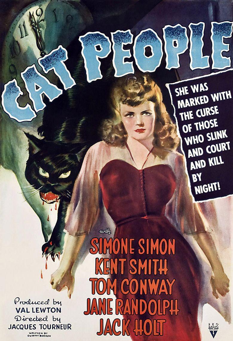 Cat People (1942 film) movie poster