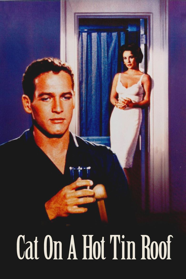 Cat on a Hot Tin Roof (1958 film) movie poster