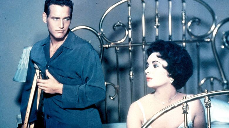 Cat on a Hot Tin Roof (1958 film) movie scenes