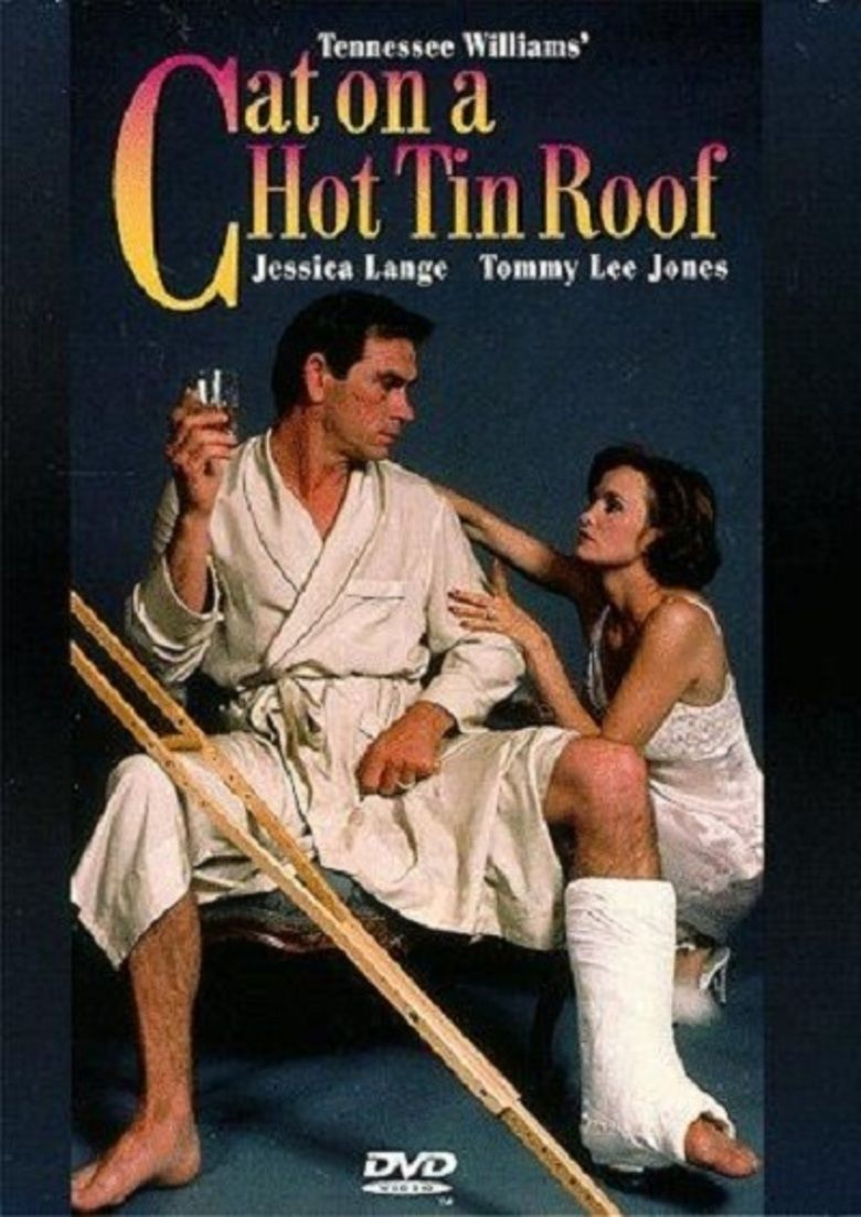 Cat on a Hot Tin Roof (1984 film) movie poster