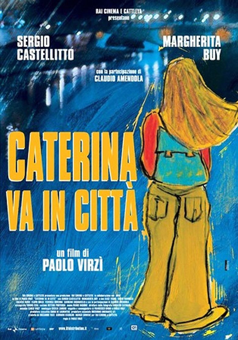 Caterina in the Big City movie poster