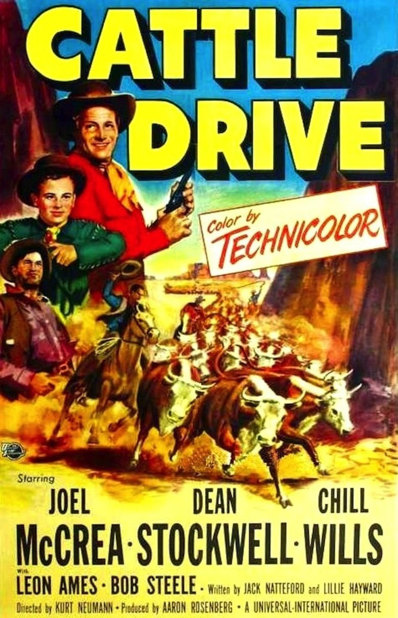 Cattle Drive movie poster
