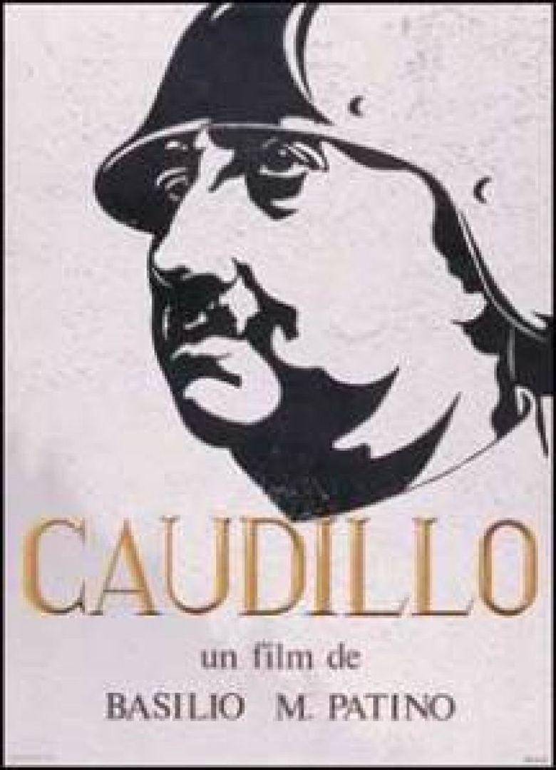 Caudillo (film) movie poster