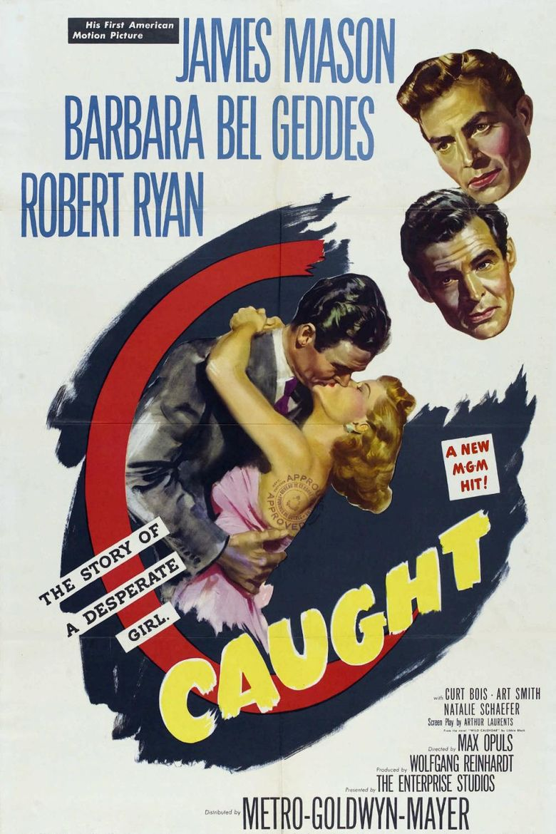 Caught (1949 film) movie poster
