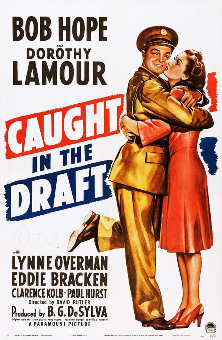 Caught in the Draft movie poster