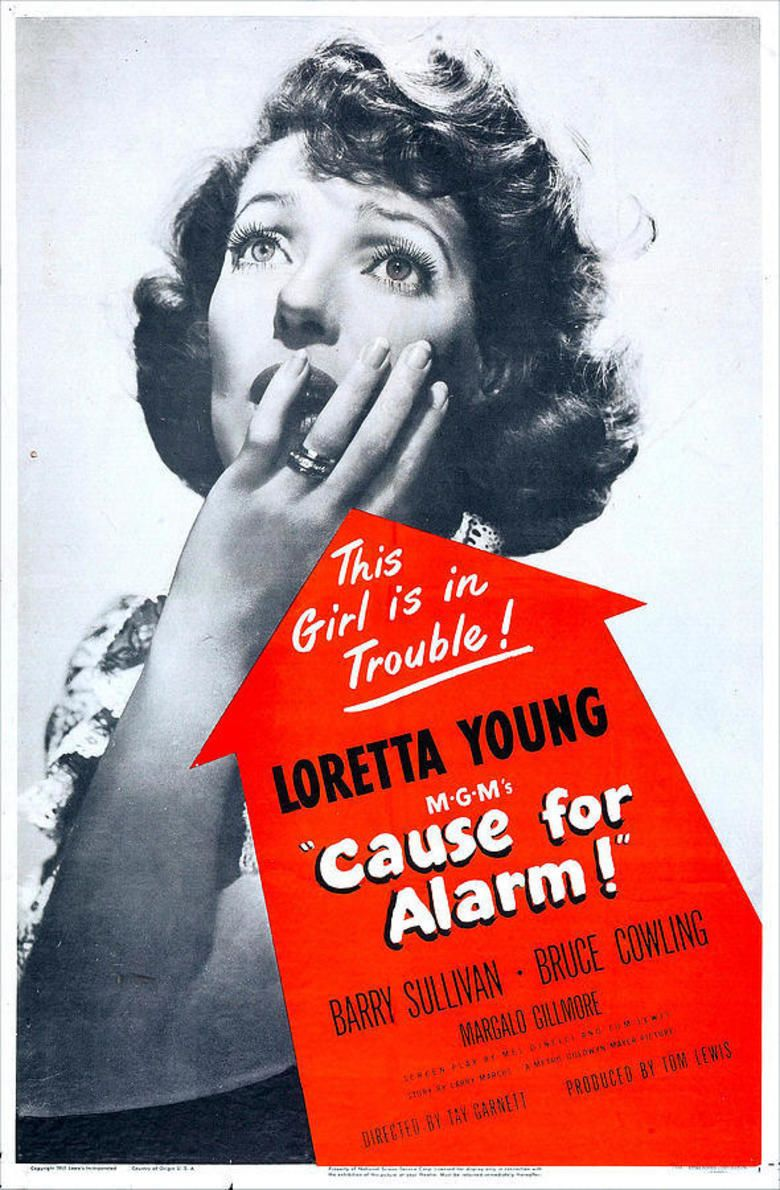 Cause for Alarm! movie poster