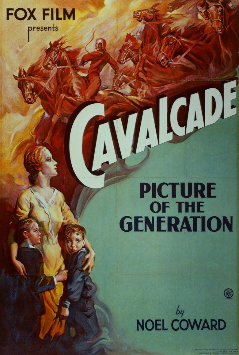 Cavalcade (1933 film) movie poster