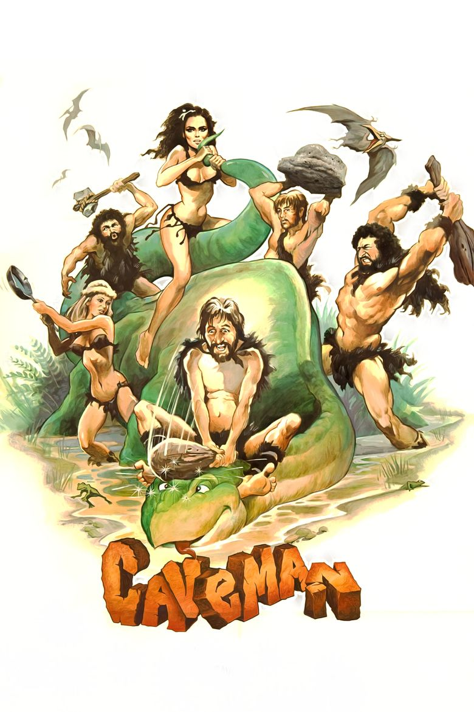 Caveman (film) movie poster