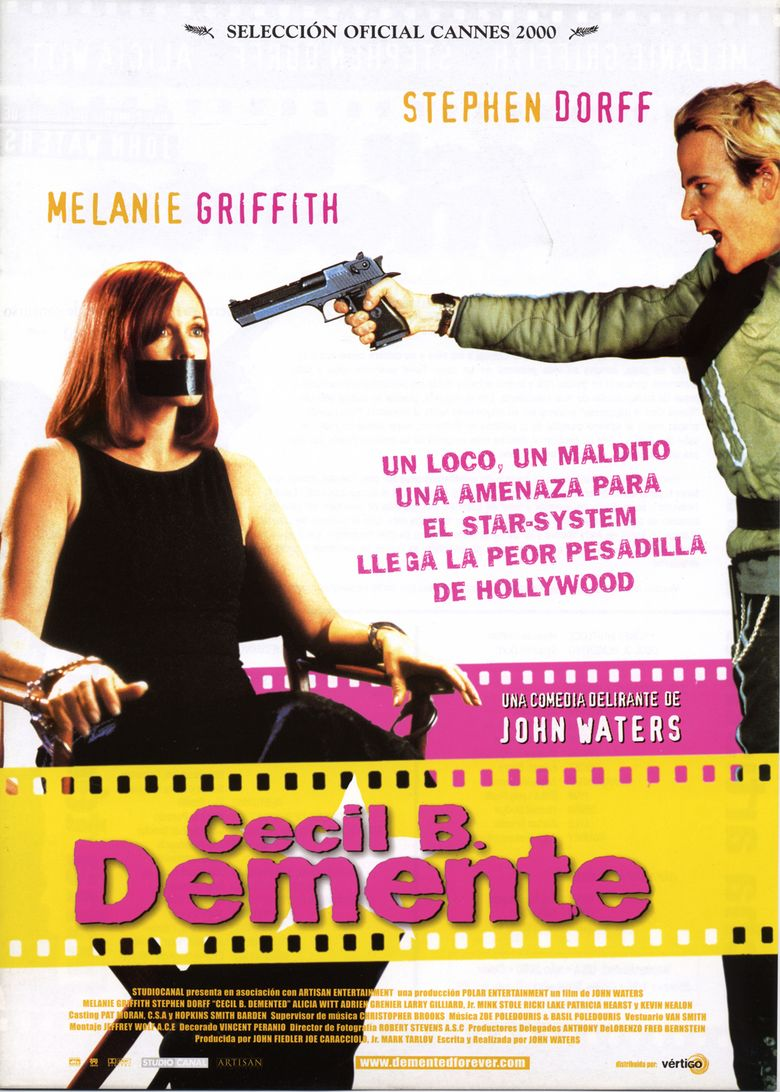 Cecil B Demented movie poster