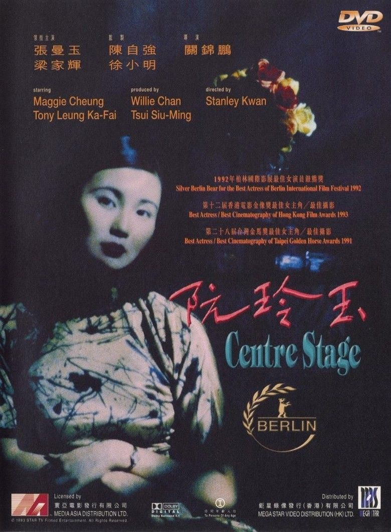 Centre Stage (1992 film) movie poster