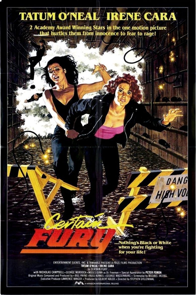 Certain Fury movie poster