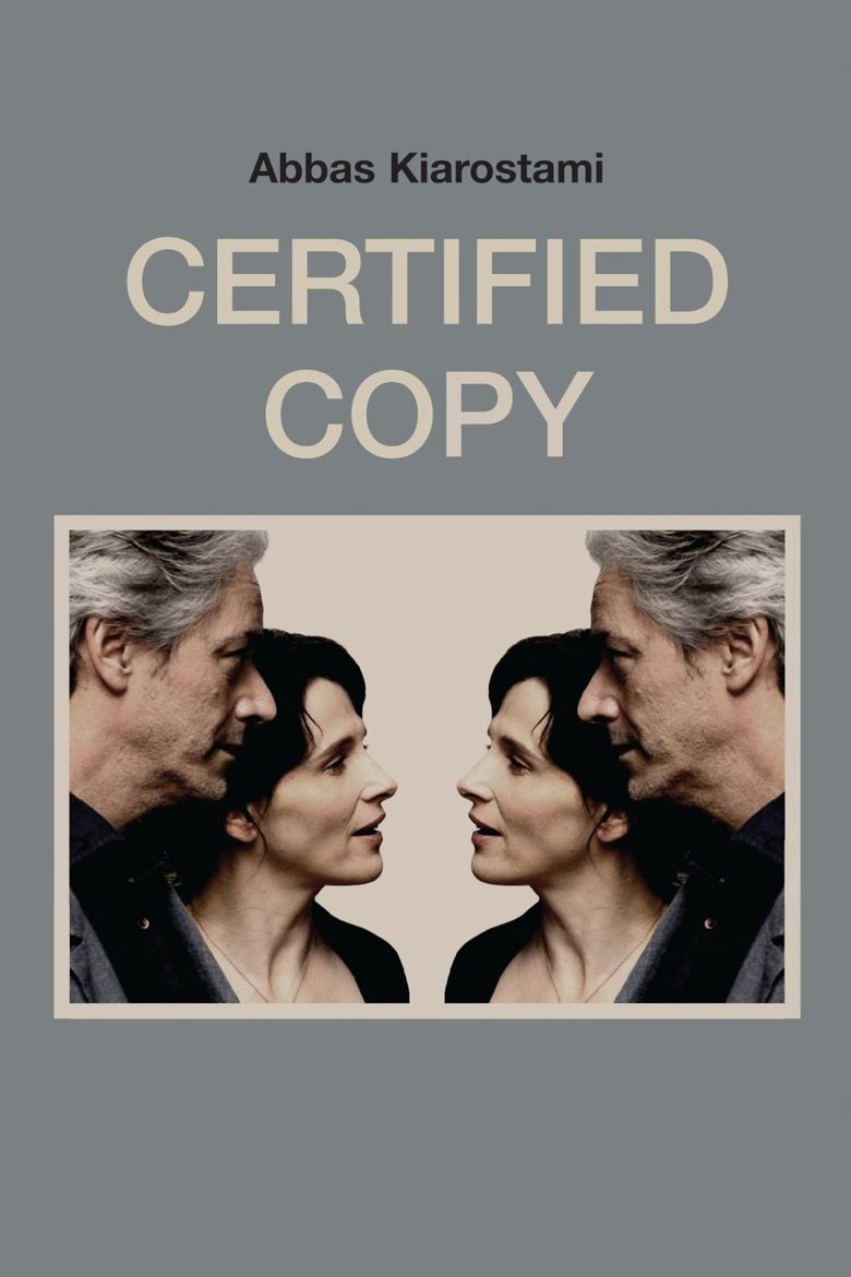 Certified Copy (film) movie poster