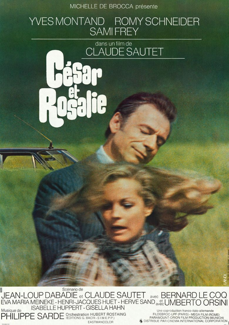 Cesar and Rosalie movie poster