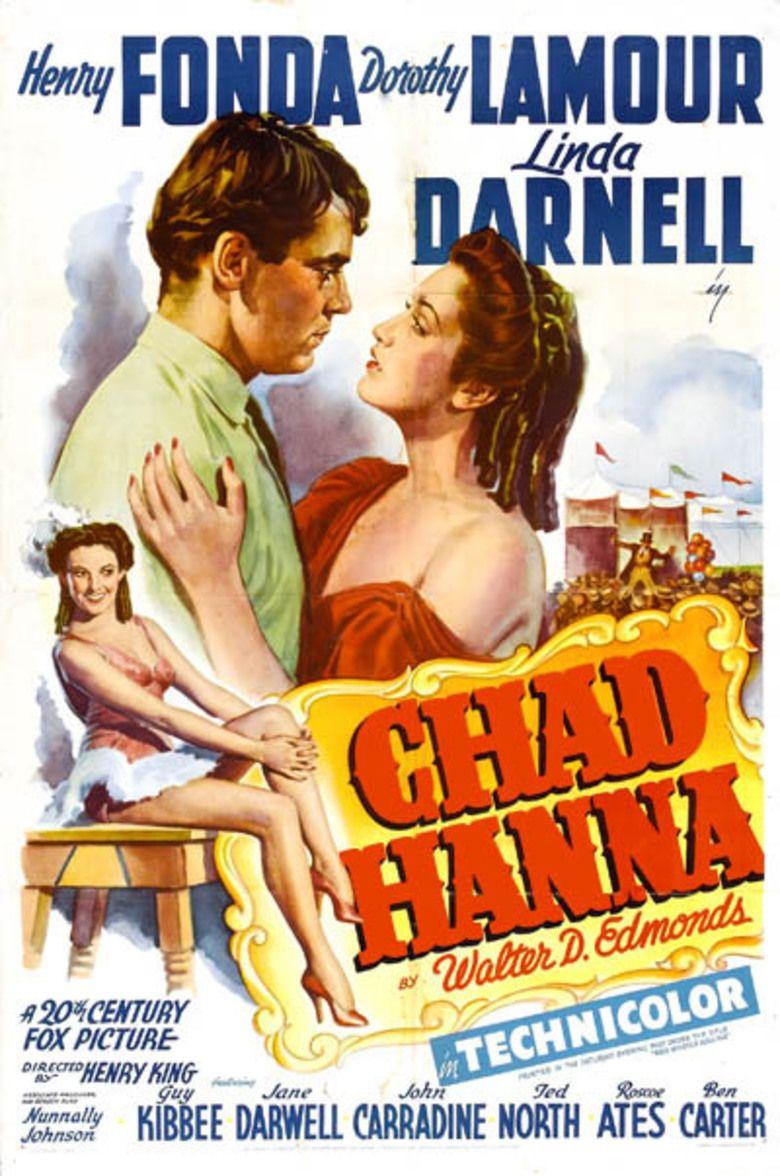 Chad Hanna movie poster