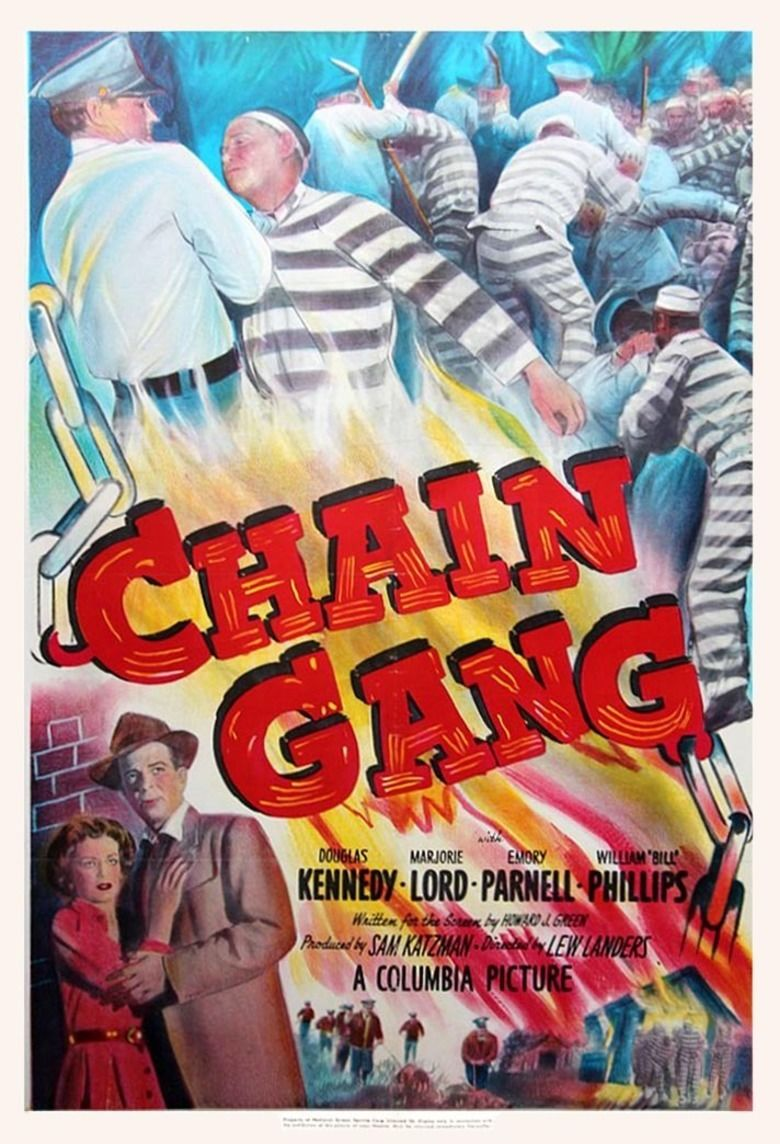 Chain Gang (1950 film) movie poster