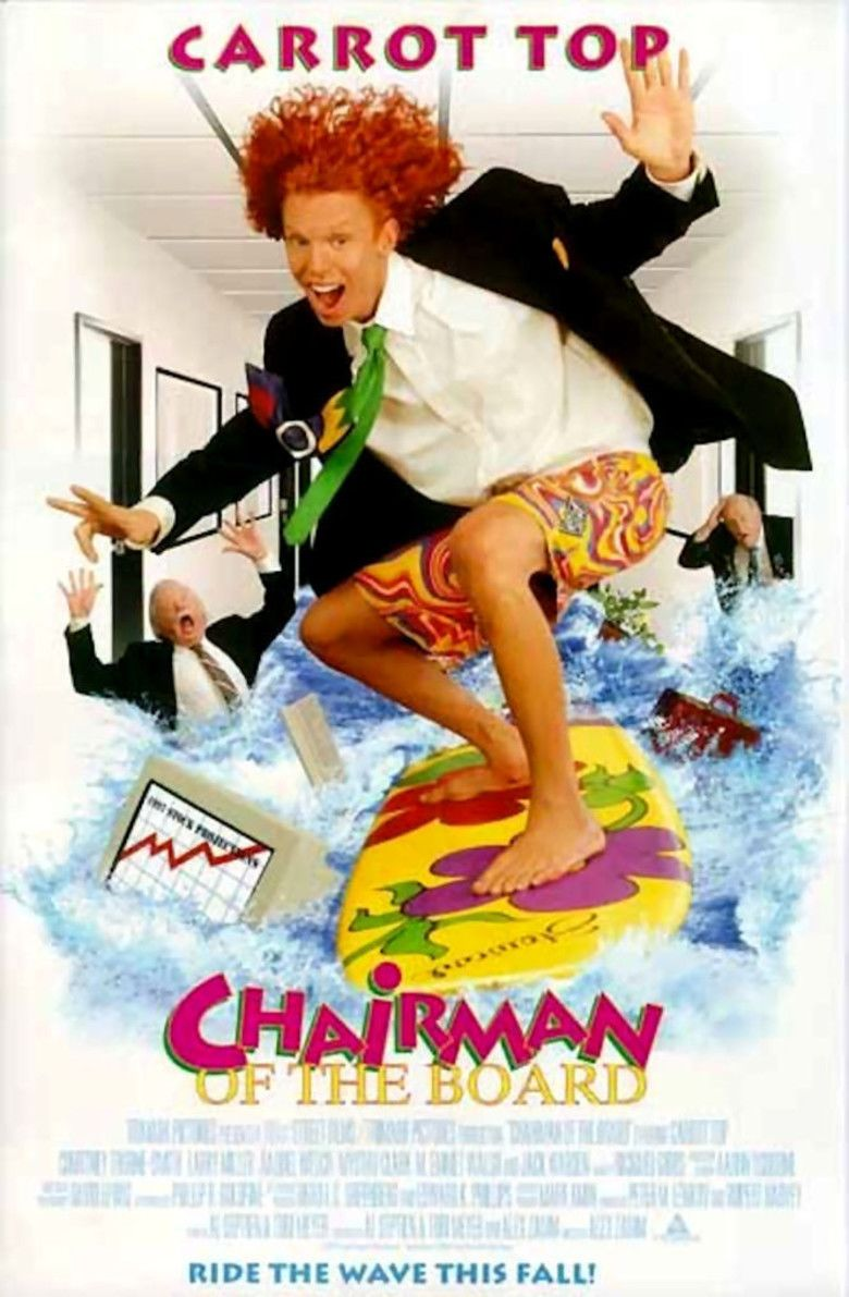 Chairman of the Board (film) movie poster
